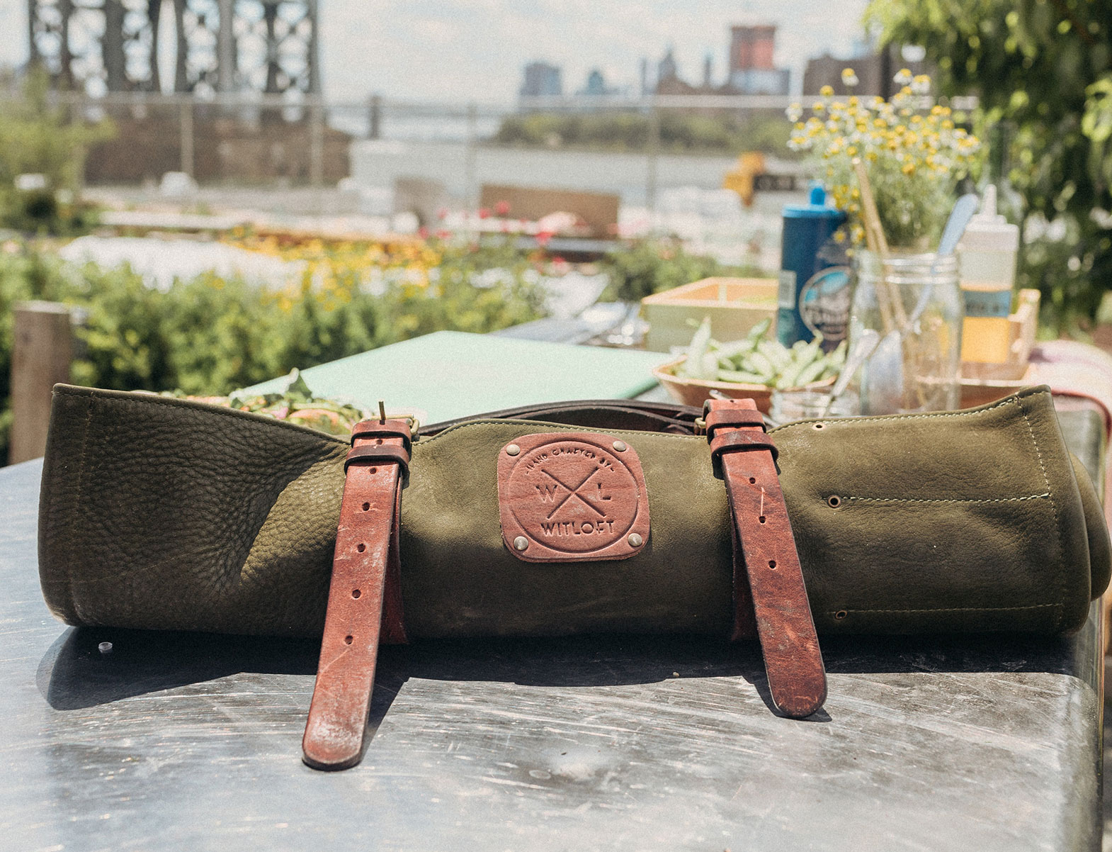 WITLOFT Cooking in Brooklyn Story forest knife roll