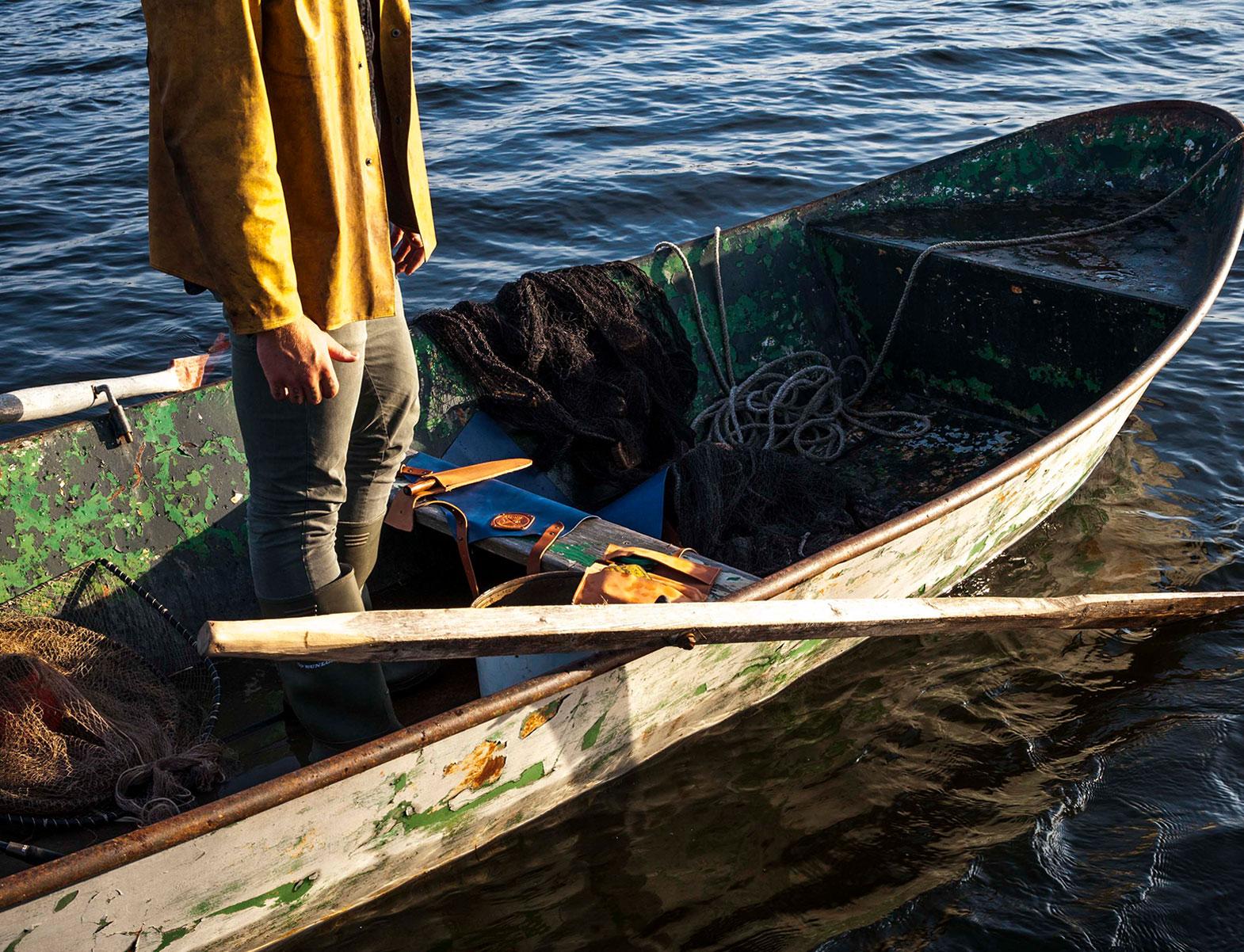 WITLOFT Island Life Story Magnus' boat