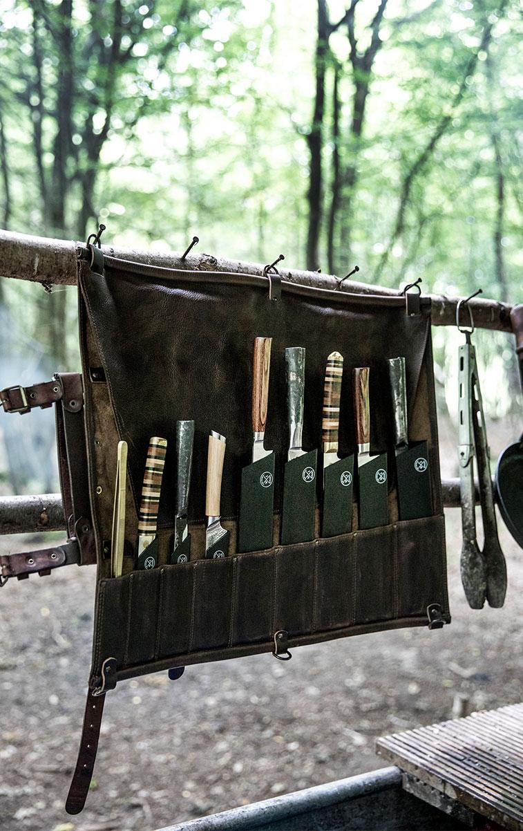 WITLOFT The Treehouse Story Knife roll
