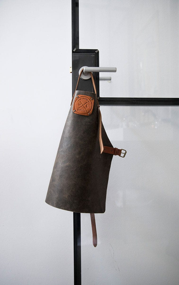 WITLOFT Cooking at home Story Black apron Kids Collection
