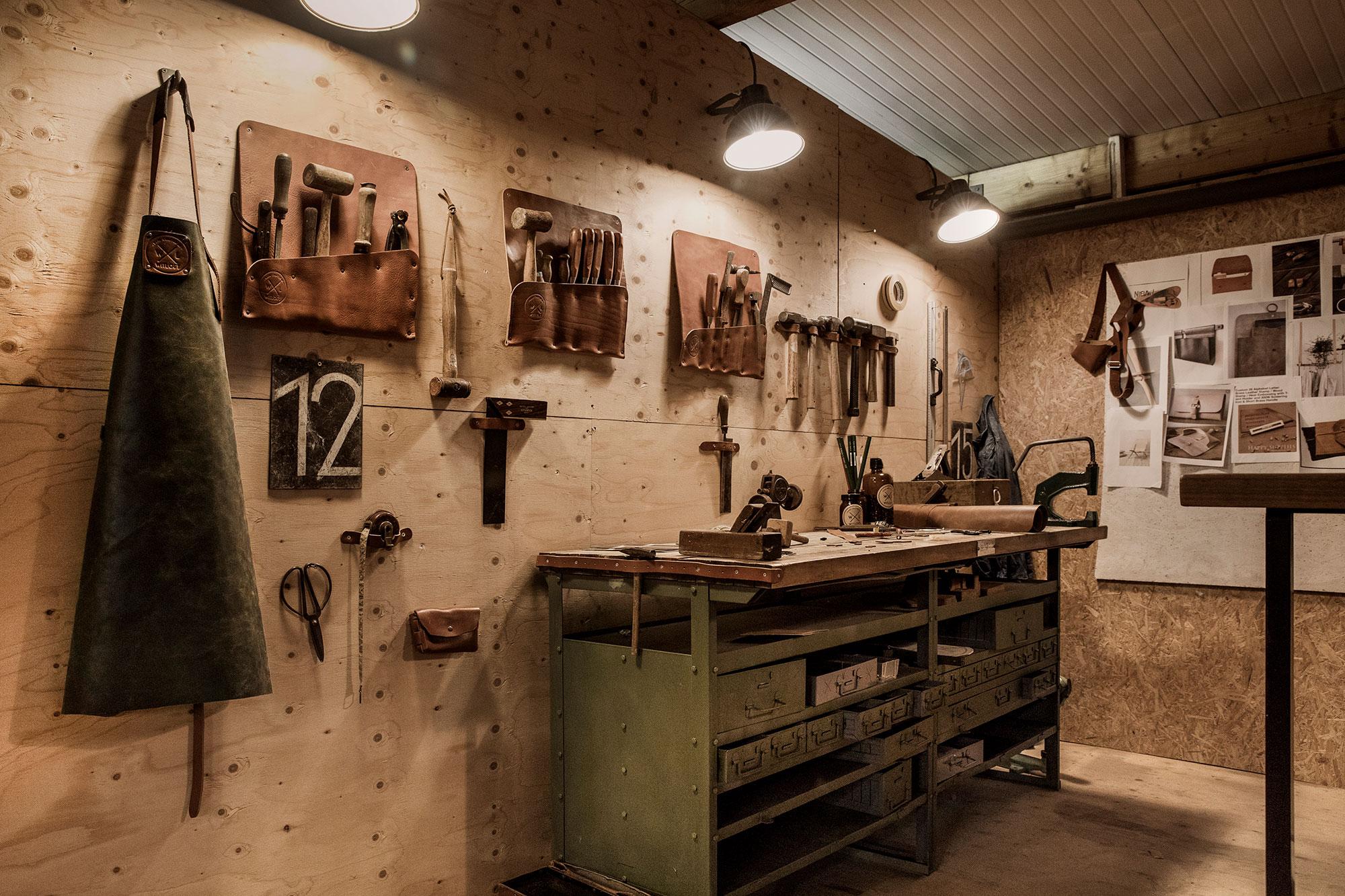 Witloft apron workshop