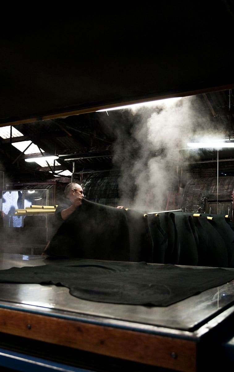 WITLOFT Leather Factory Story Leather steam machine