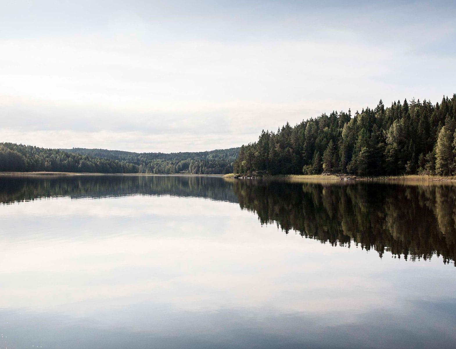 WITLOFT Island Life Story Beautiful Swedish Lake